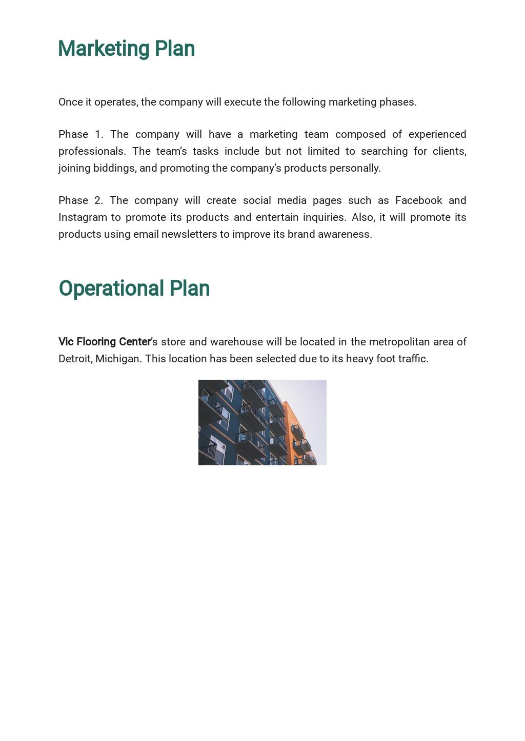 Flooring Company Business Plan Template 4.jpe
