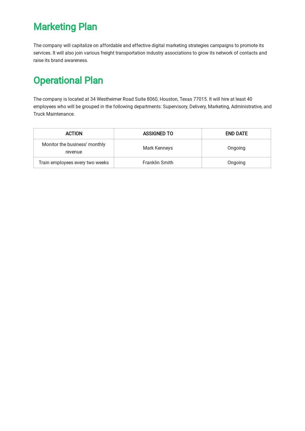 Freight Trucking Business Plan Template 4.jpe