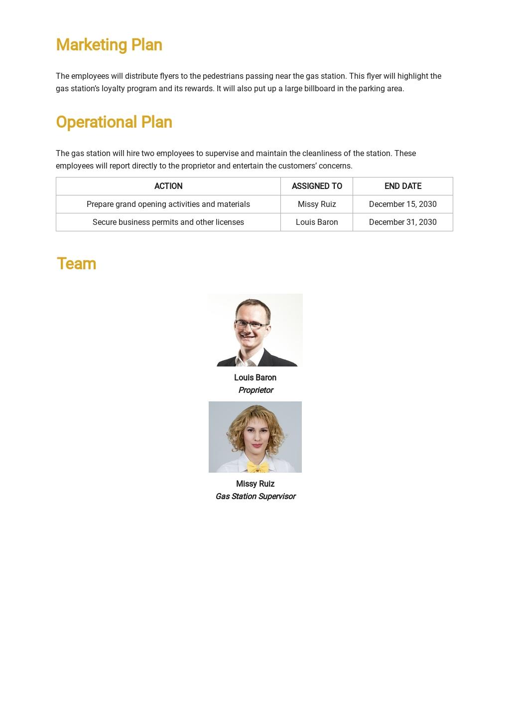 Gas Station Business Plan Template 3.jpe