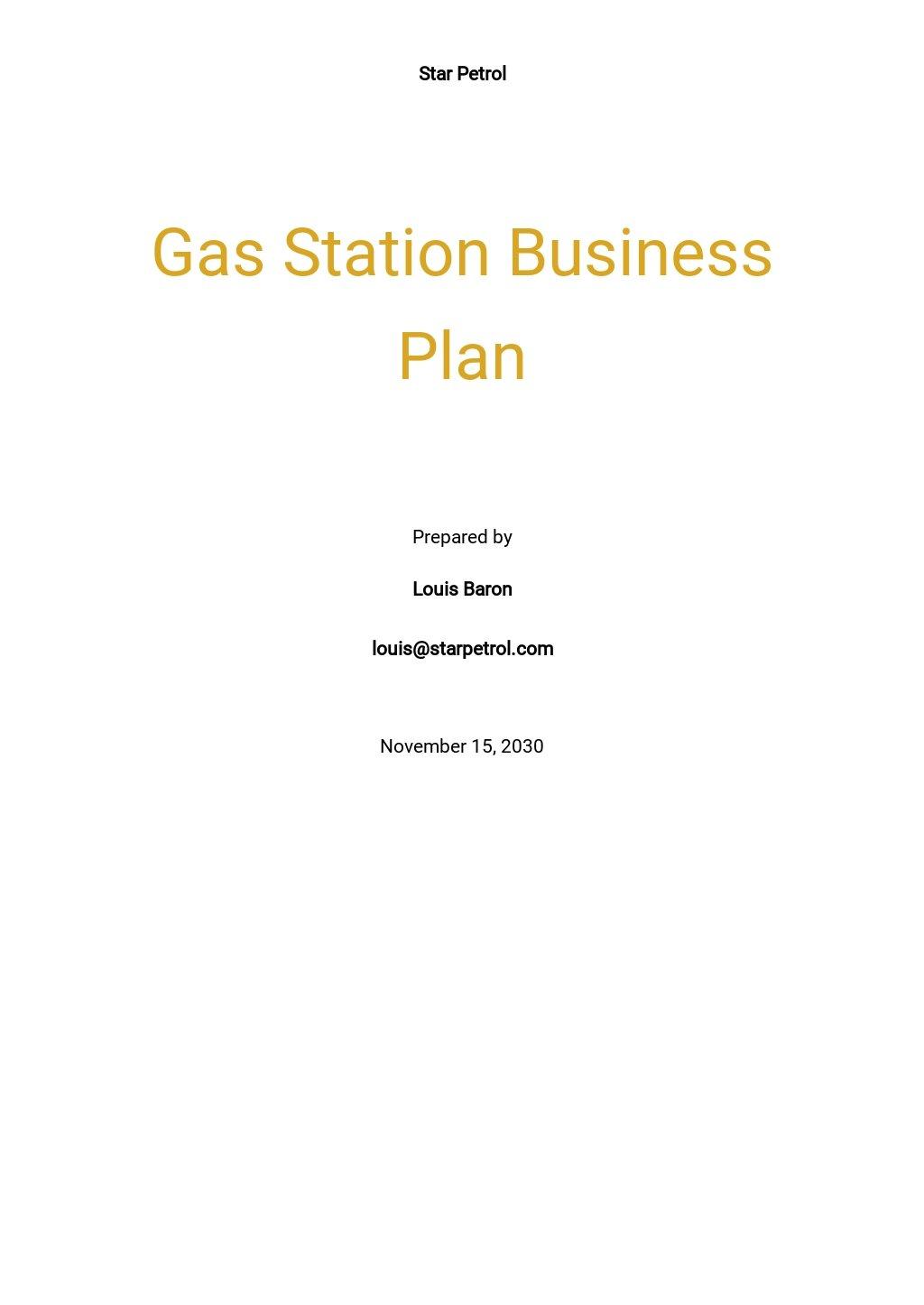 Gas Station Business Plan Template.jpe
