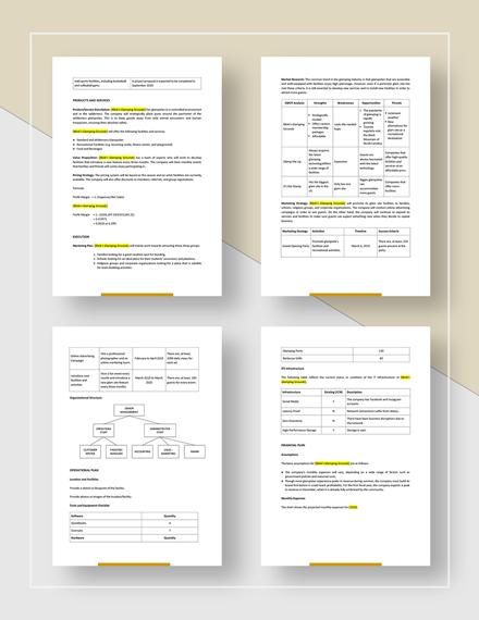 Glamping Business Plan Download