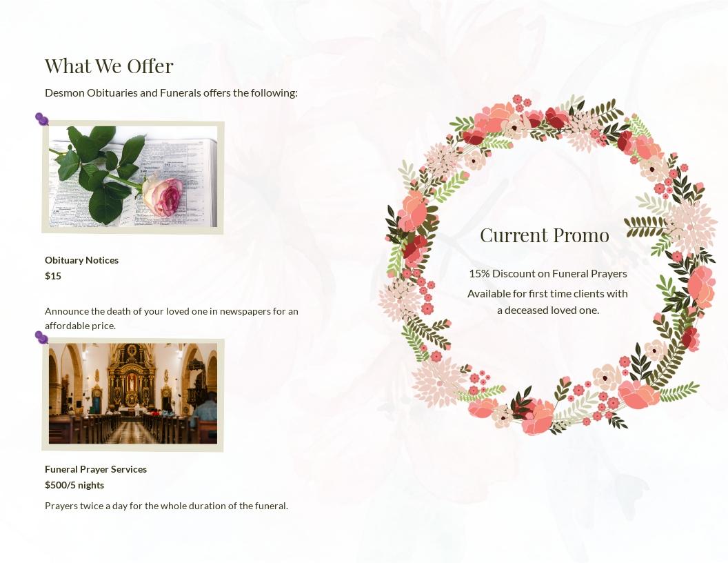 Catholic Floral Obituary Brochure Template 1.jpe