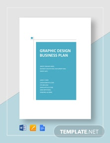 Graphic Design Business Plan Template