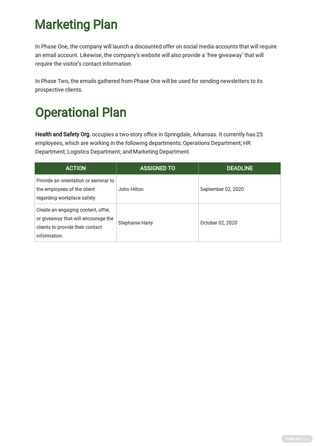 Health & Safety Business Plan Template 3.jpe