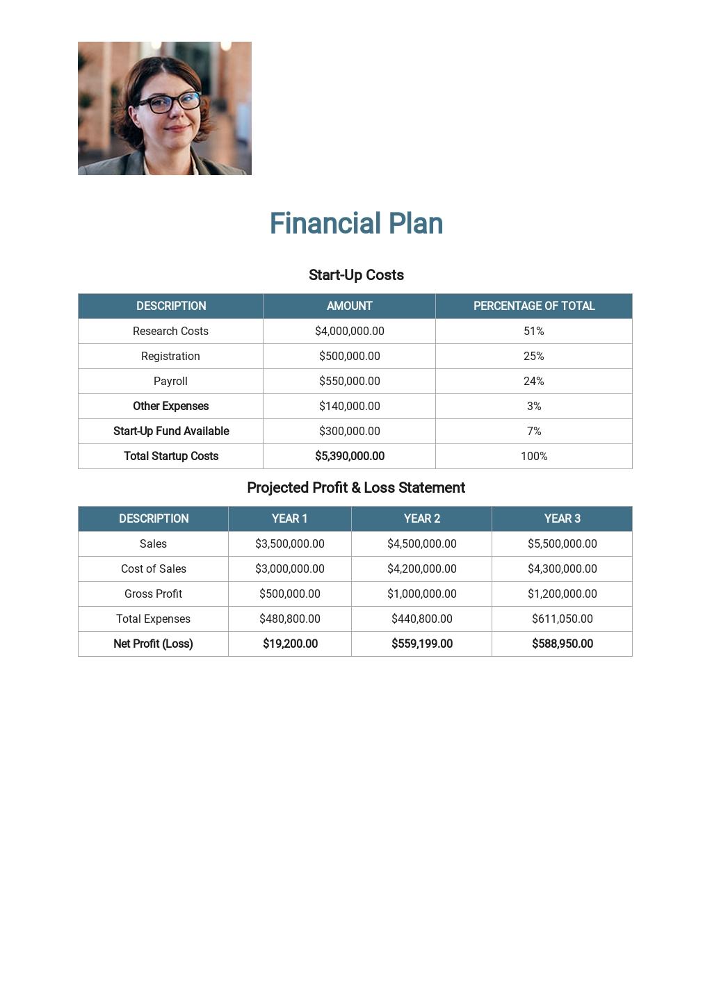 Health Care / Social Care Business Plan Template 6.jpe