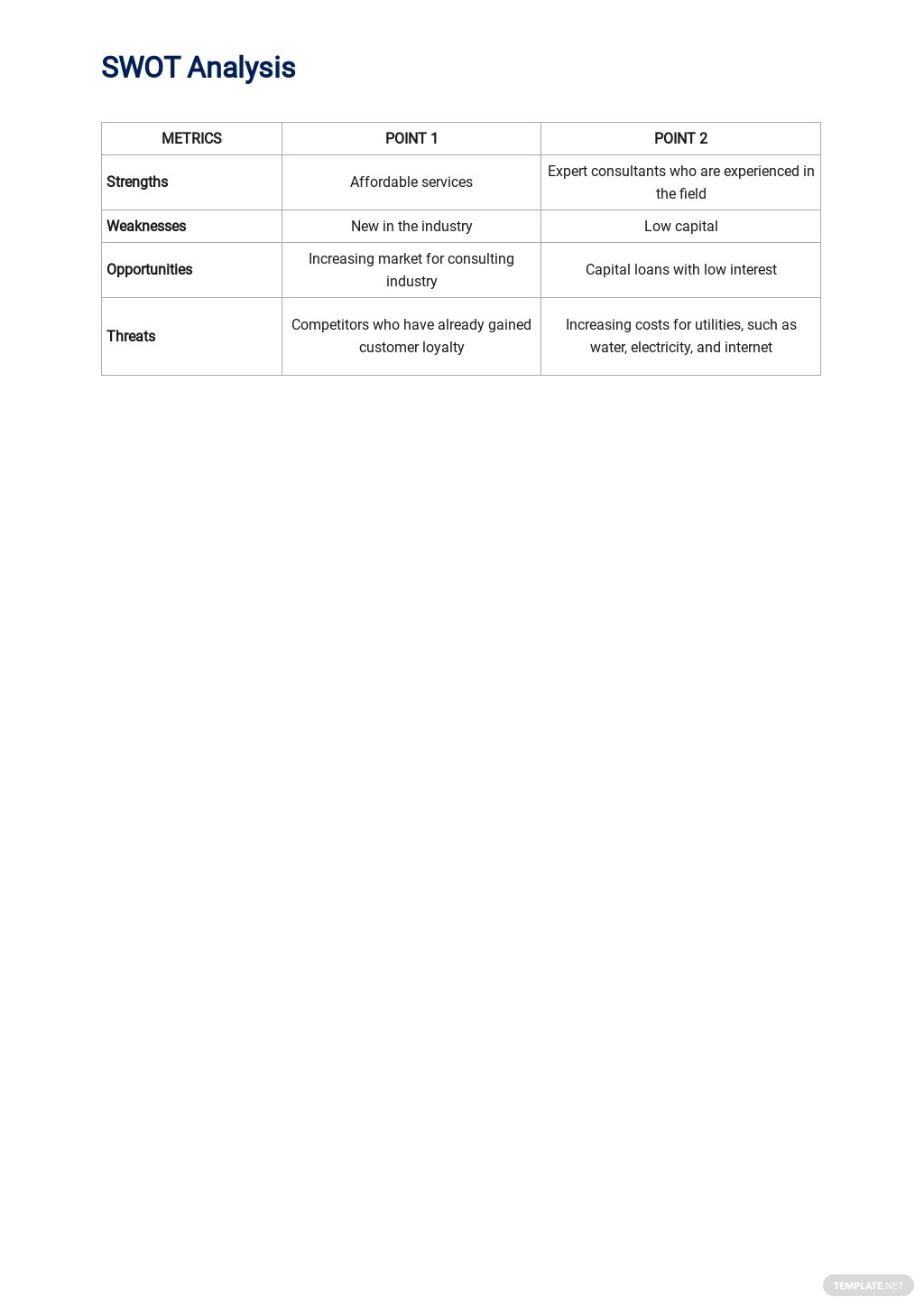 Sample Human Resources Consulting Business Plan 3.jpe