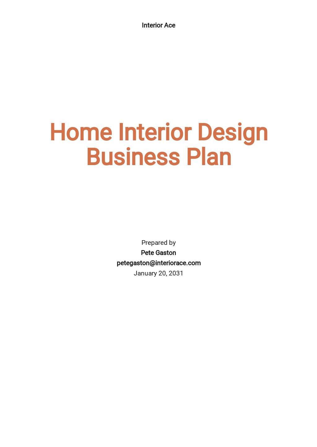 Home Interior Design Business Plan.jpe