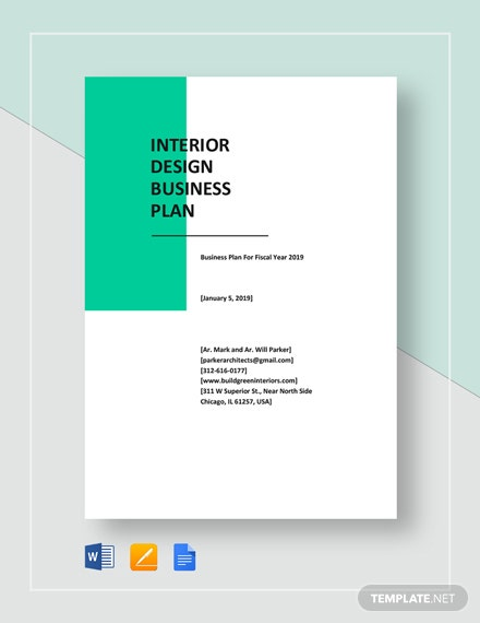 Graphic design business plan template download 638 plans - Business plan for web design company ...