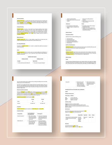 Internal Audit Strategic Plan Download