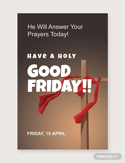 Free Good Friday Pinterest Post Download