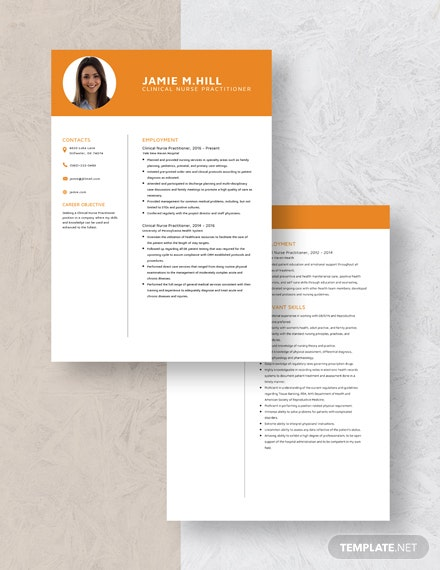Clinical Nurse Practitioner Resume Download