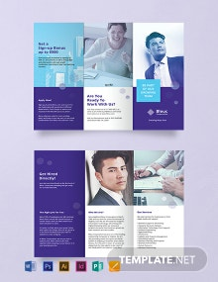 Free Recruitment Brochure Template