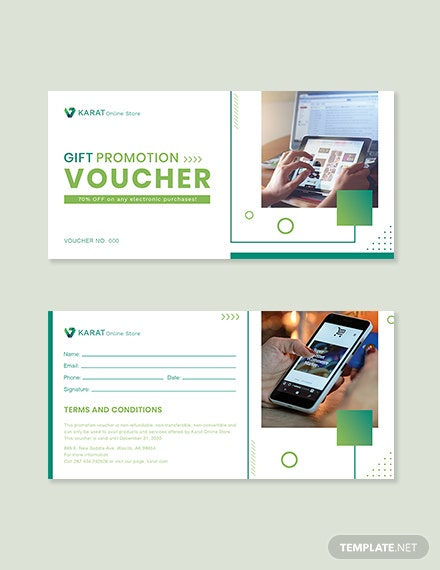 Ecommerce Promotion Voucher Template