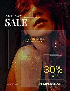 Free One Day Sale Flyer Template