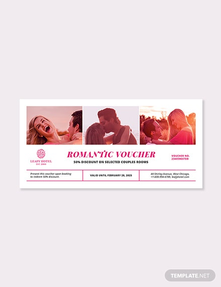 Naughty Romantic Voucher Template
