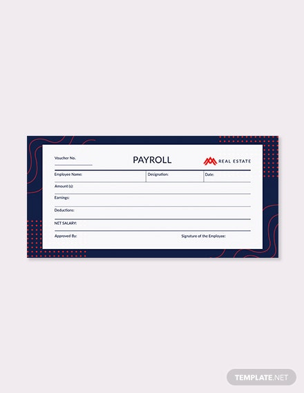 payroll money voucher