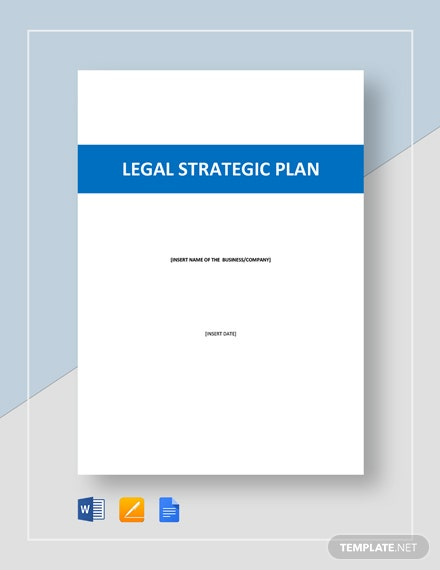 Legal Strategic Plan