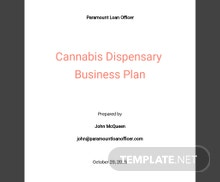 Loan Officer Business Plan Template