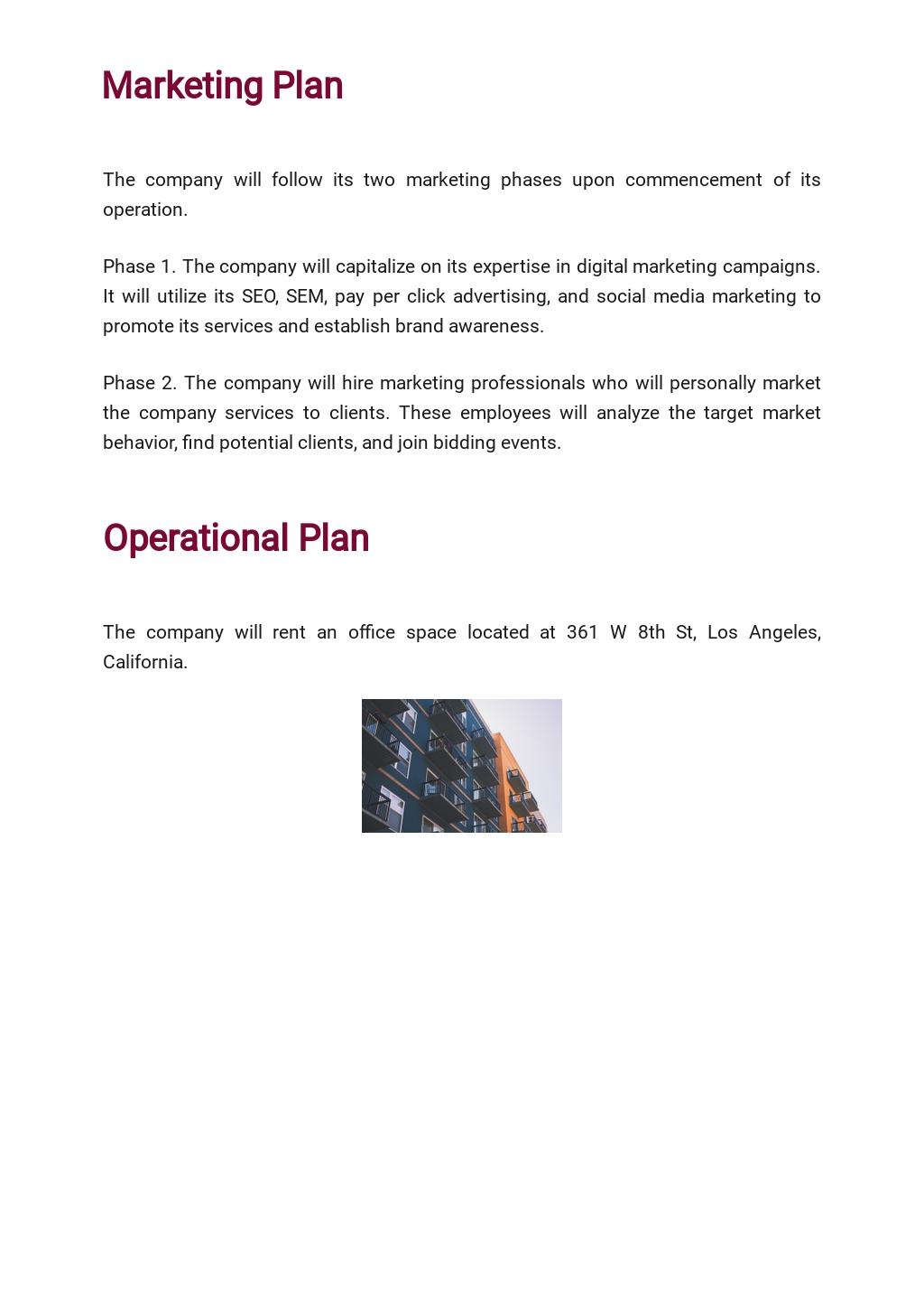 Marketing Agency Business Plan Template 4.jpe