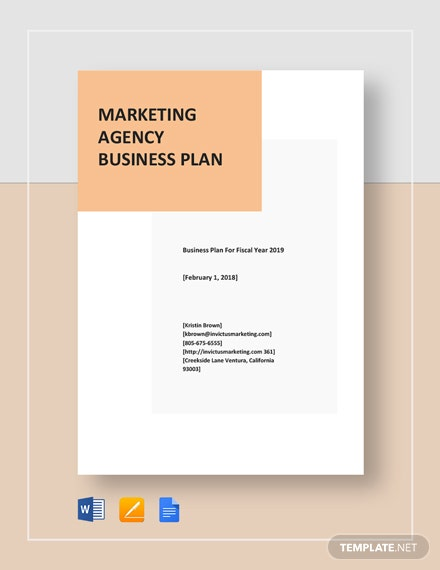 Marketing Agency Business Plan