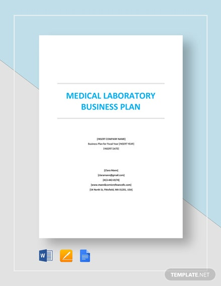 Medical Laboratory Business Plan Template