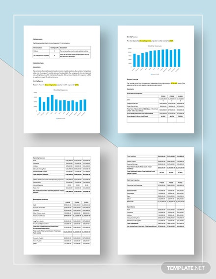 Simple Medical Laboratory Business Plan