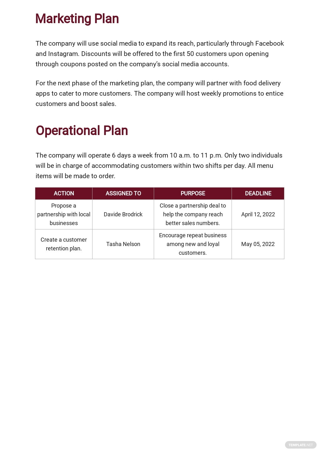 Mobile Catering Business Plan Template 4.jpe