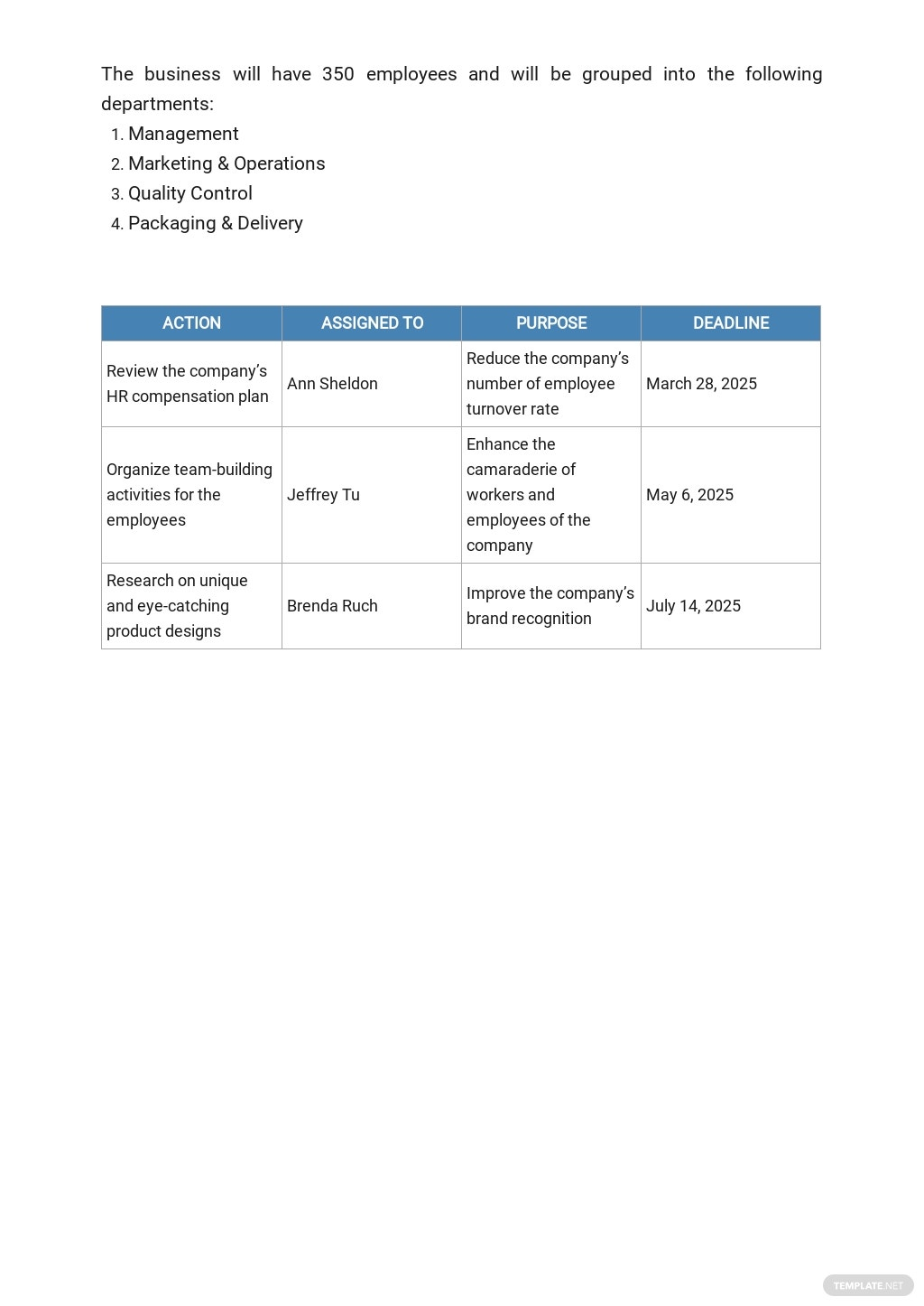 Packaging and Shipping Business Plan Template 5.jpe