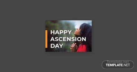 Free Ascension Day Pinterest Board Cover