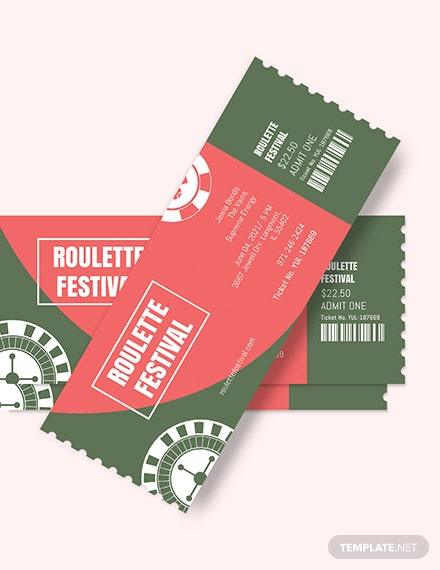 Raffle Festival Ticket Download