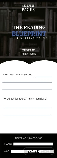 Reading Media Exit Ticket Template