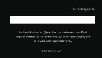Free Amazing Membership Card Template 1.jpe