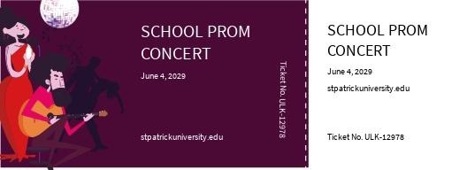 School Concert Ticket Template.jpe
