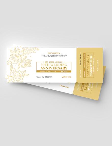 Golden VIP Ticket Download