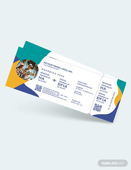 Holiday Travel Ticket Download