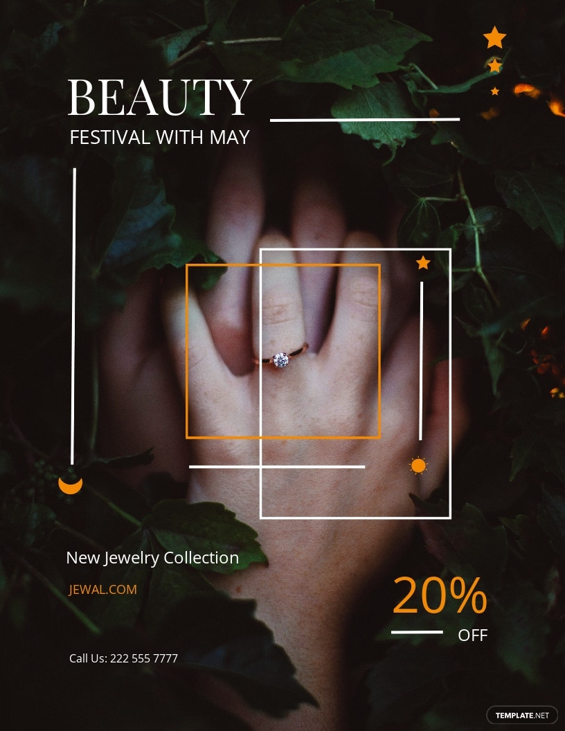 Jewelry Shop Flyer Template