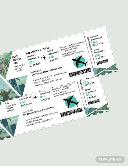 Travel Agency Ticket Download