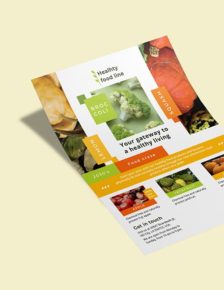 Health Nutrition Flyer Download