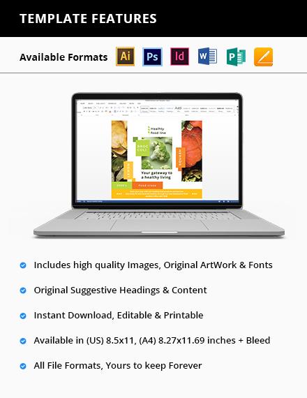 Health Nutrition Flyer Printable
