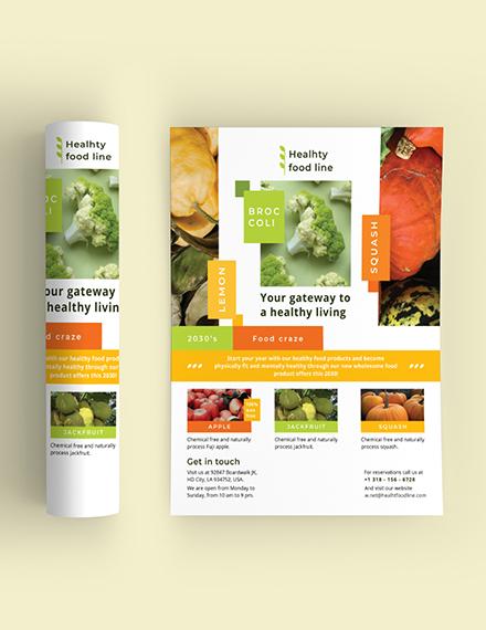 Sample Health Nutrition Flyer