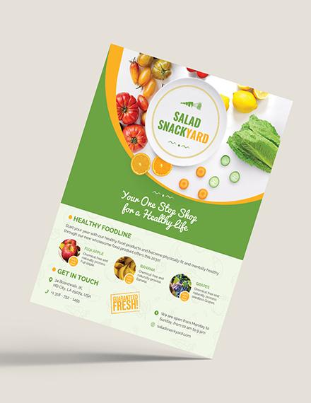 Healthy Food Diet Flyer Download