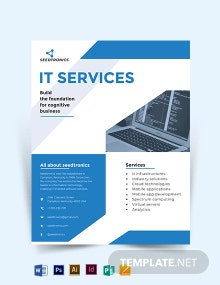 IT Business Flyer Template