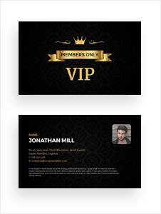 Free Fan Club Membership Card Template