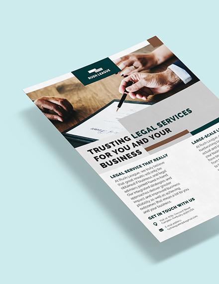 Legal Services Flyer Download