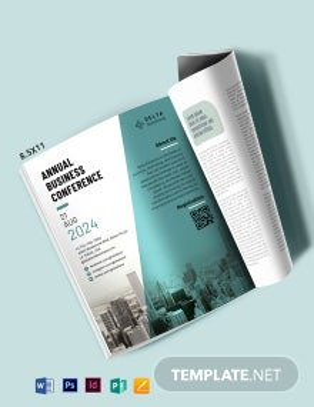 Business Magazine Ads Template