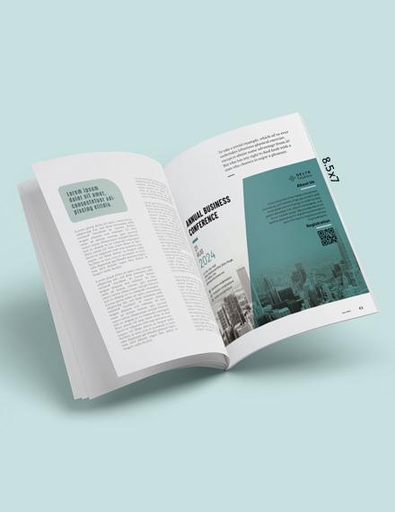 Simple Business Magazine Ads