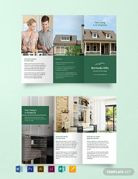 Free Multipurpose Brochure Template