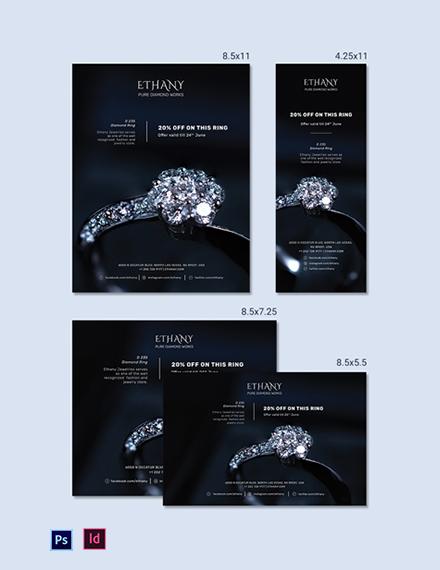 Jewellery Store Magazine Ads