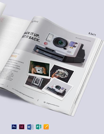 Product Magazine Ads