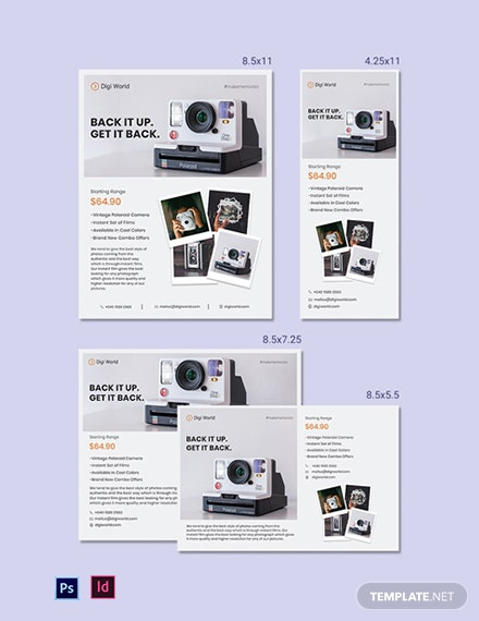 Product Magazine Ads Template